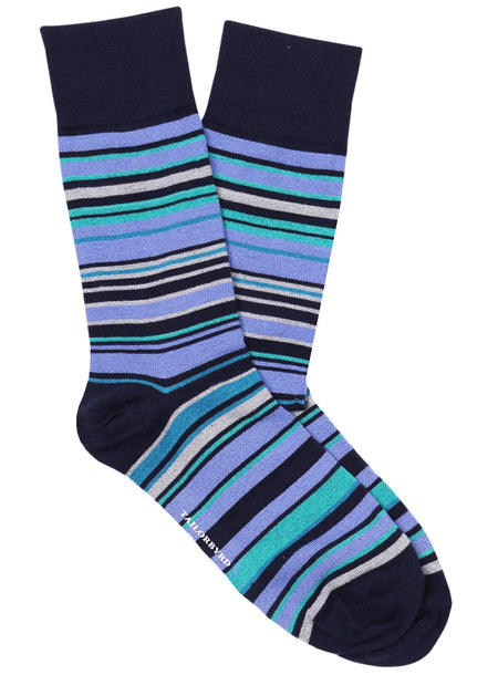 Diagonal Stripe Sock