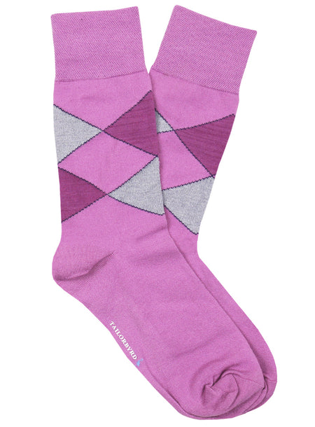 Geometric Stripe Sock