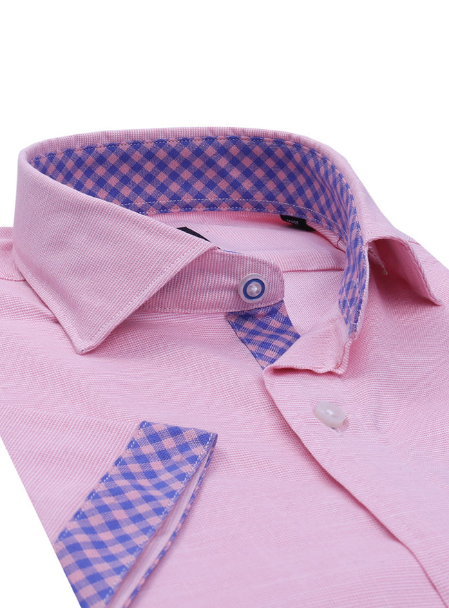 Pink Lightweight Short Sleeve Shirt