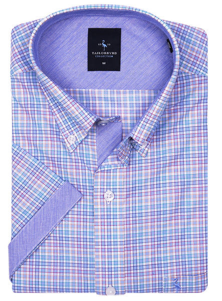 Multi Check Short Sleeve Shirt