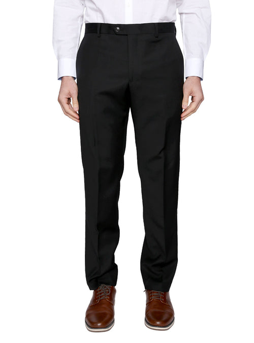 Flat Front Wool Dress Pants
