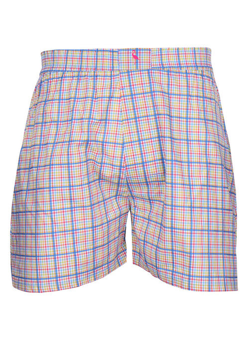 Multi Plaid Boxer Shorts