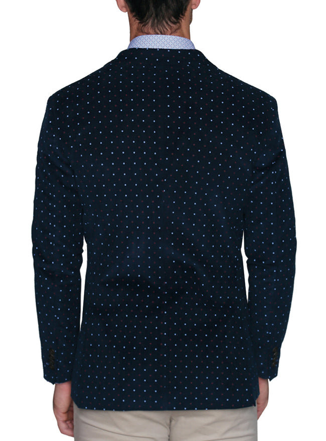 Dot Corduroy Sport Coat