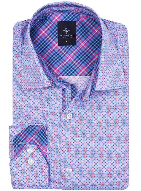 Fuchsia Small Plaid Button-Down Shirt