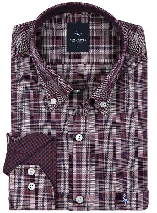 Marlberry Plaid Button-Down Shirt
