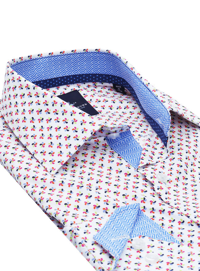 Pinwheel Multi Button-Down Shirt