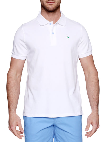 Short Sleeve Classic Polo with Byrd