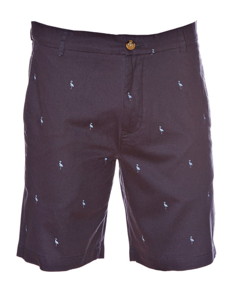 Charcoal Stretch Shorts