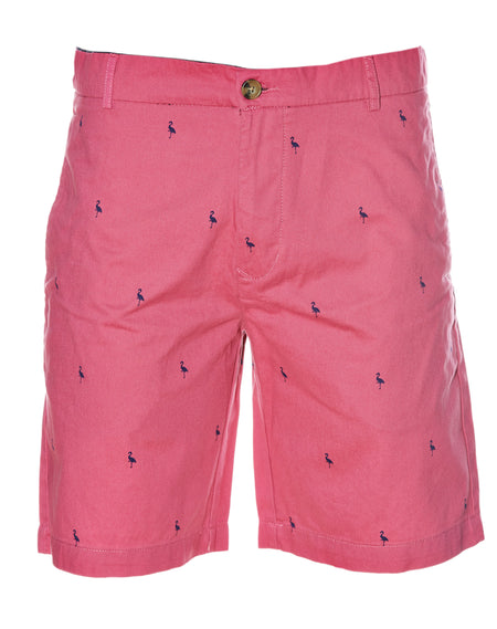 Pink Oxford Short