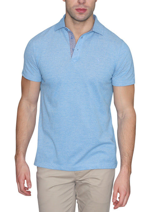 Oxford Knit Big and Tall Polo