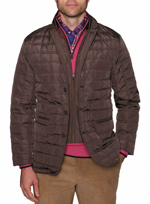Classic Quilted Big and Tall Jacket